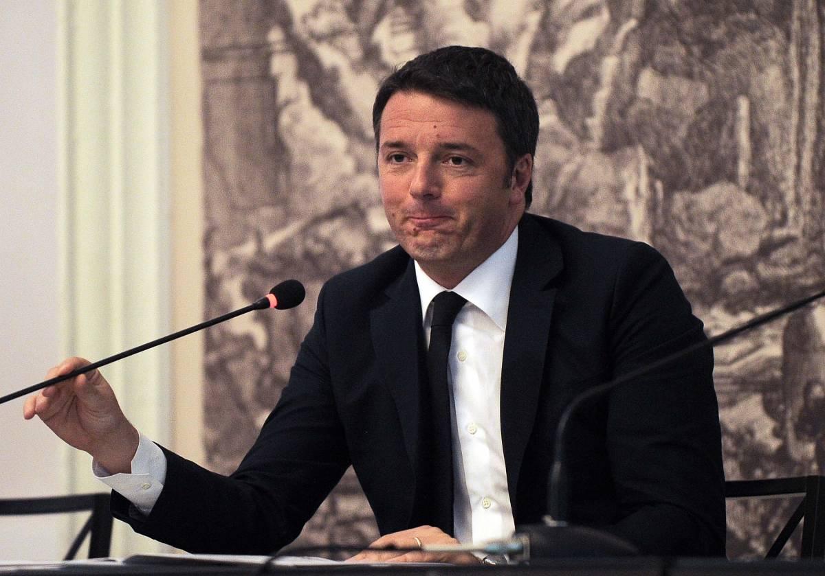 """Renzi va da Hollande: """"Uniti contro il terrorismo"""""""