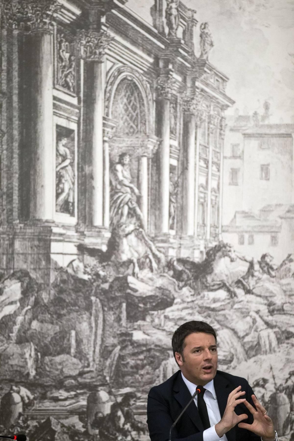 """Renzi: """"Giusta l'idea di Putin sulla grande coalizione contro l'Isis"""""""