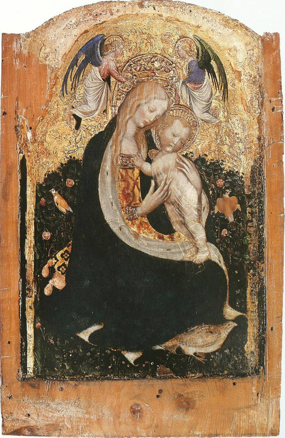 """""""La Madonna della quaglia"""" del Pisanello"""