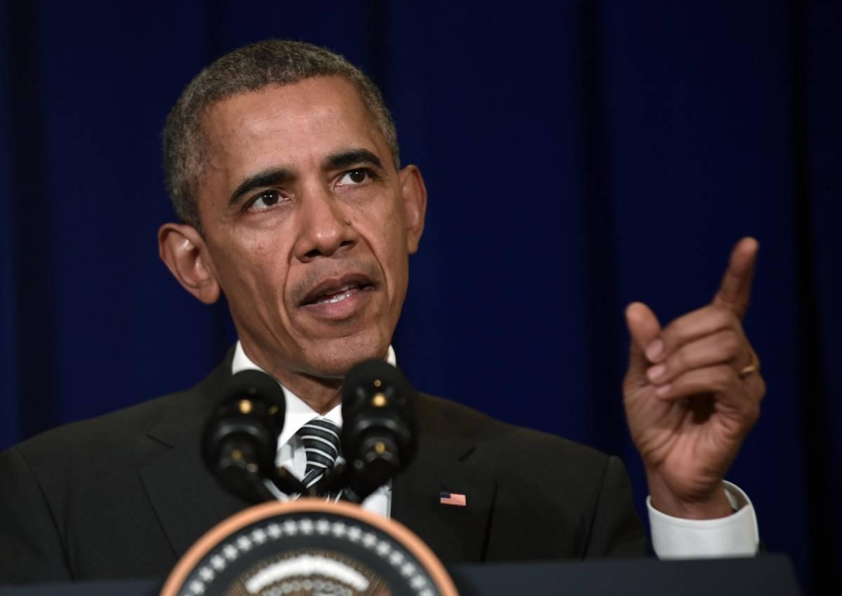 Barack Obama parla in conferenza stampa a Kuala Lumpur