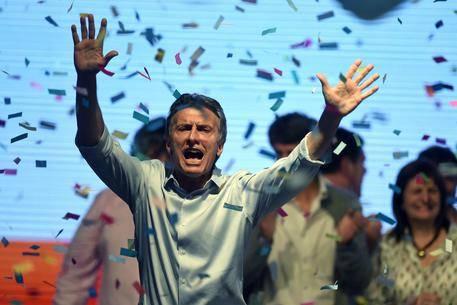 Argentina, Macri è il nuovo presidente