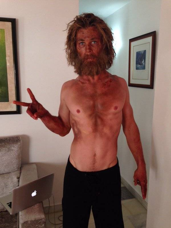 "Chris Hemsworth marinaio irriconoscibile per ""In the heart of the sea"""