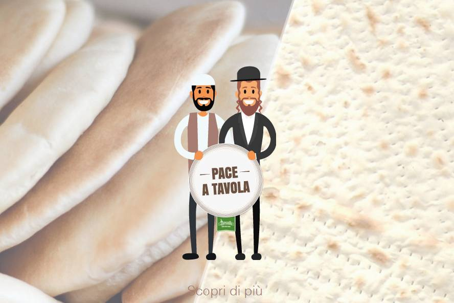 Shalom, salam e buon appetito