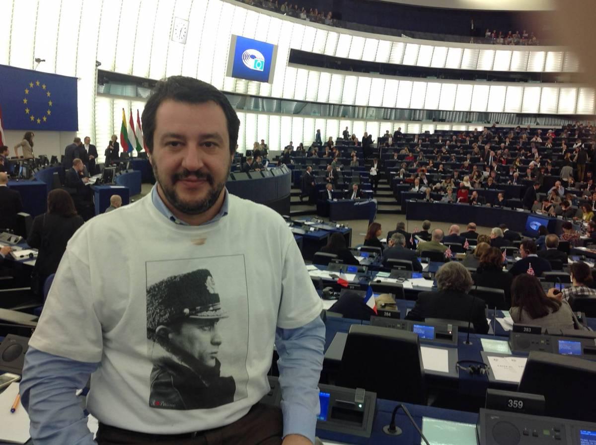 """La provocazione di Salvini: """"Cedo Mattarella per Putin"""""""