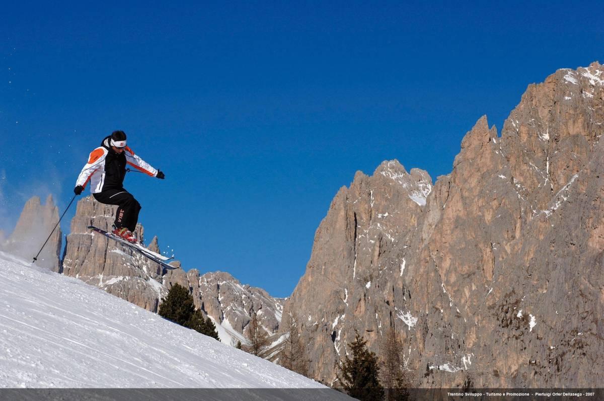 Trentino, primo weekend a tutto sci: le piste aperte