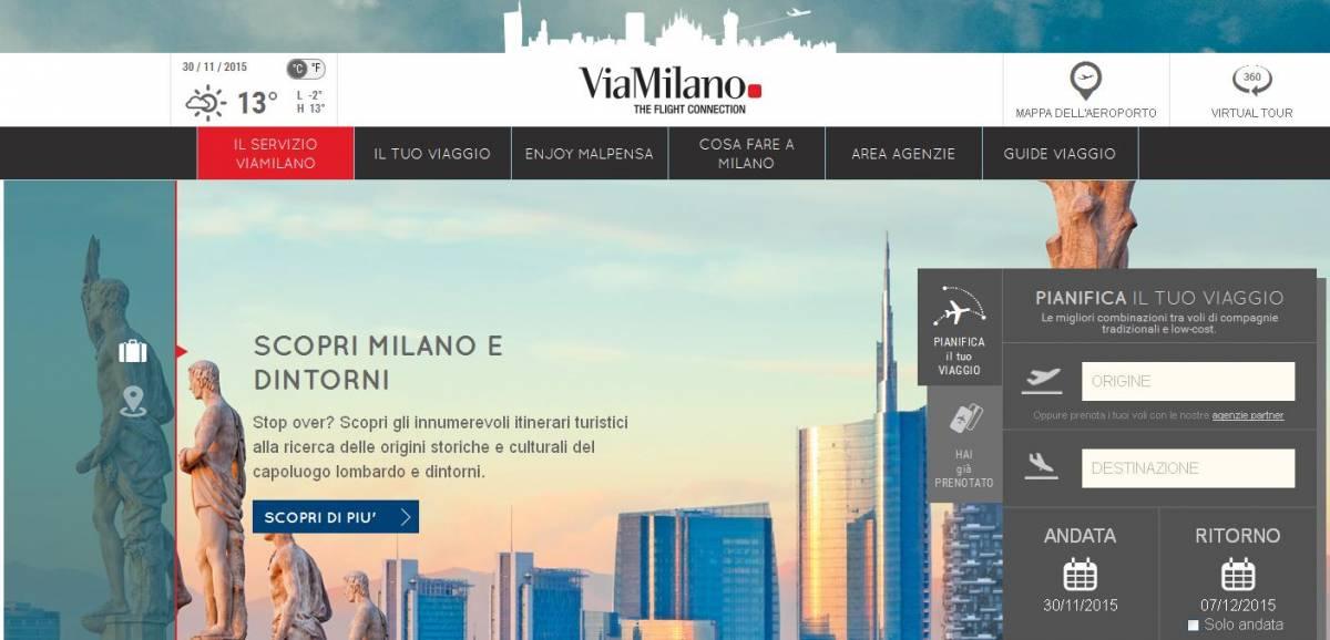 ViaMilano, la porta del mondo da Malpensa: on line sul sito anche le guide per viaggiare
