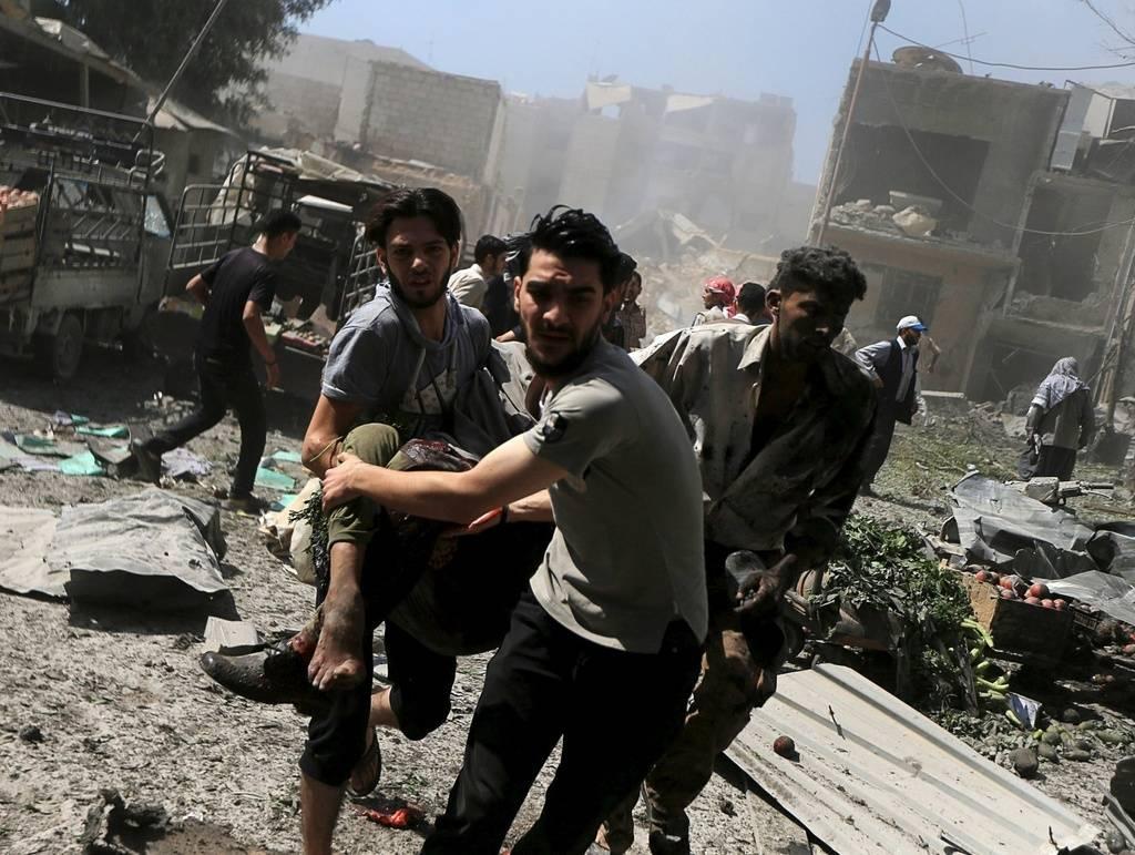 Il bluff delle Ong sulla Siria: civili morti per screditare Putin