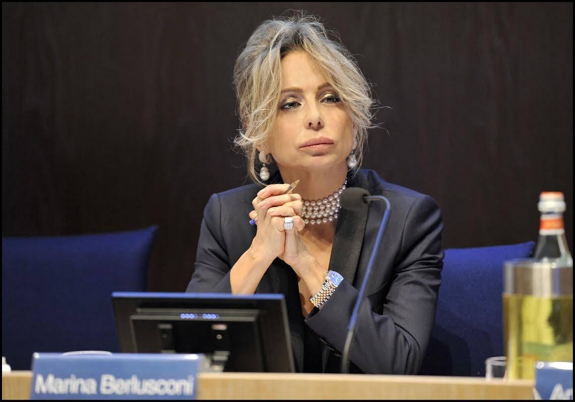 """Marina Berlusconi sul voltafaccia di Bollorè: """"Ecco gli effetti di una finanza malata"""""""