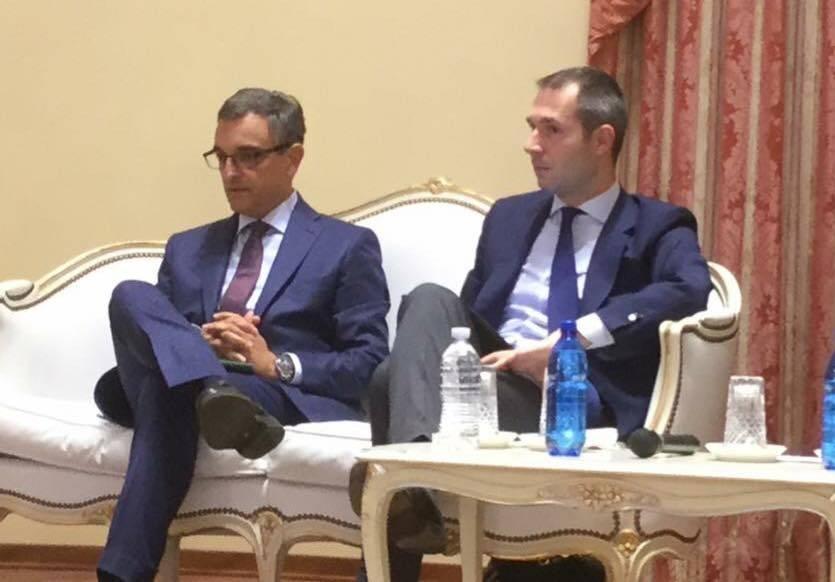 Il procuratore Roberto Rossi con Marco Donati (Pd)