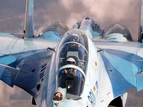 Caccia russo precipita nei cieli di Latakia