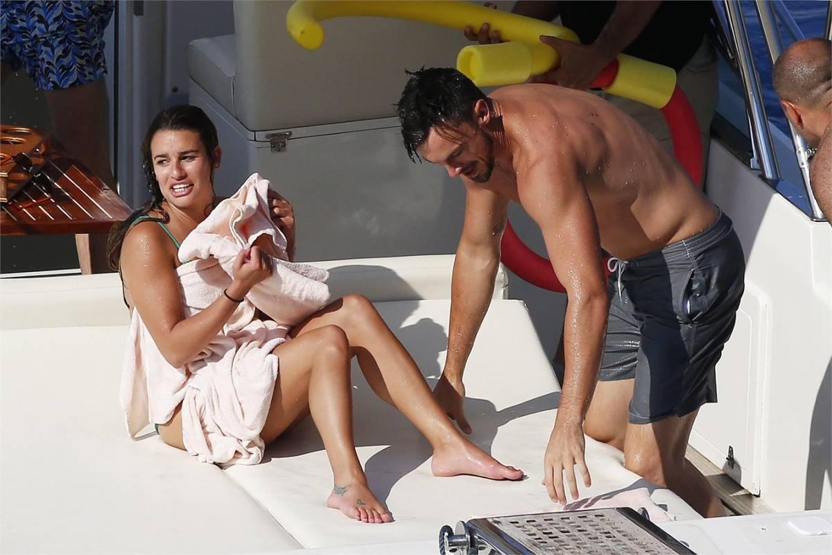 Lea Michele, storia finita con Matthew Paetz