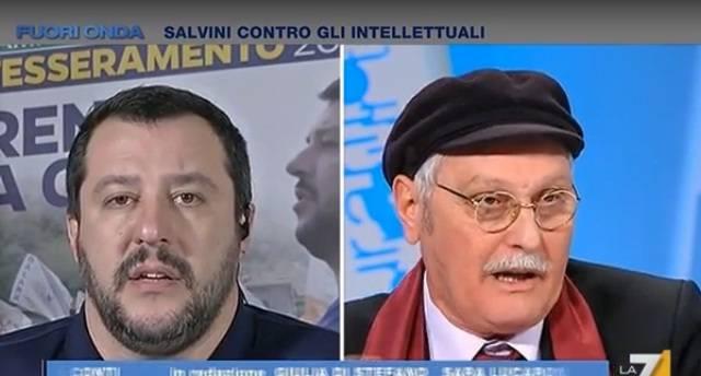 """""""Salvini? Faccia da c…"""". Ora lo scrittore Pennacchi è indagato per gli insulti al ministro"""