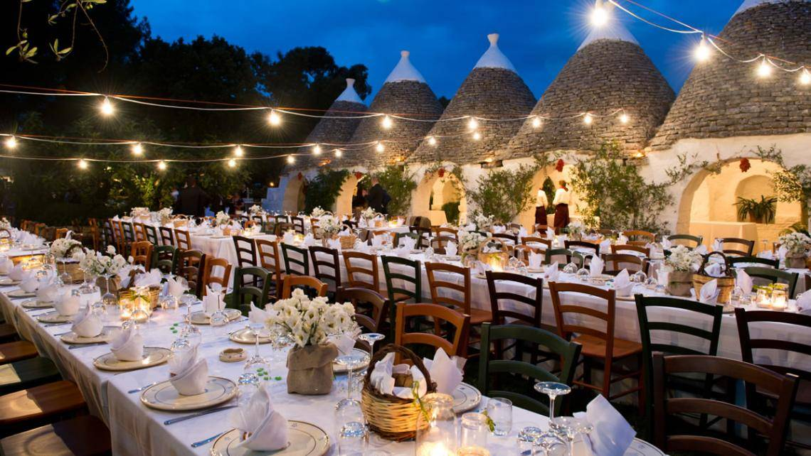 Tutti pazzi per i matrimoni in Puglia