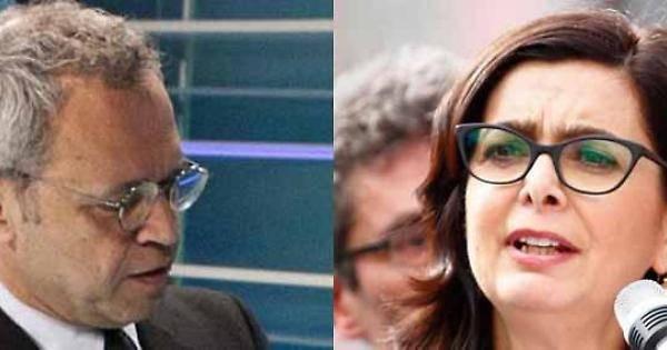 """Bruxelles, Mentana """"scarta"""" la Boldrini: """"Queste possiamo risparmiarcele"""""""