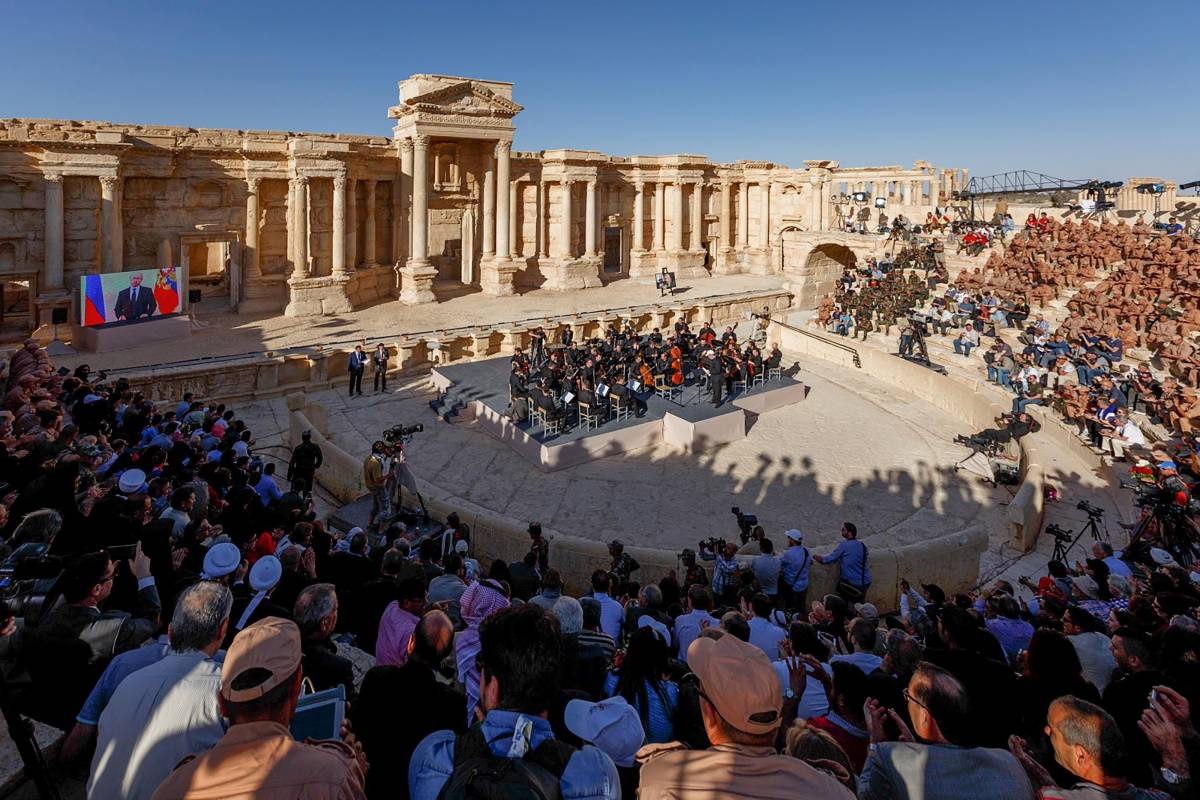 L'Isis rientra a Palmira