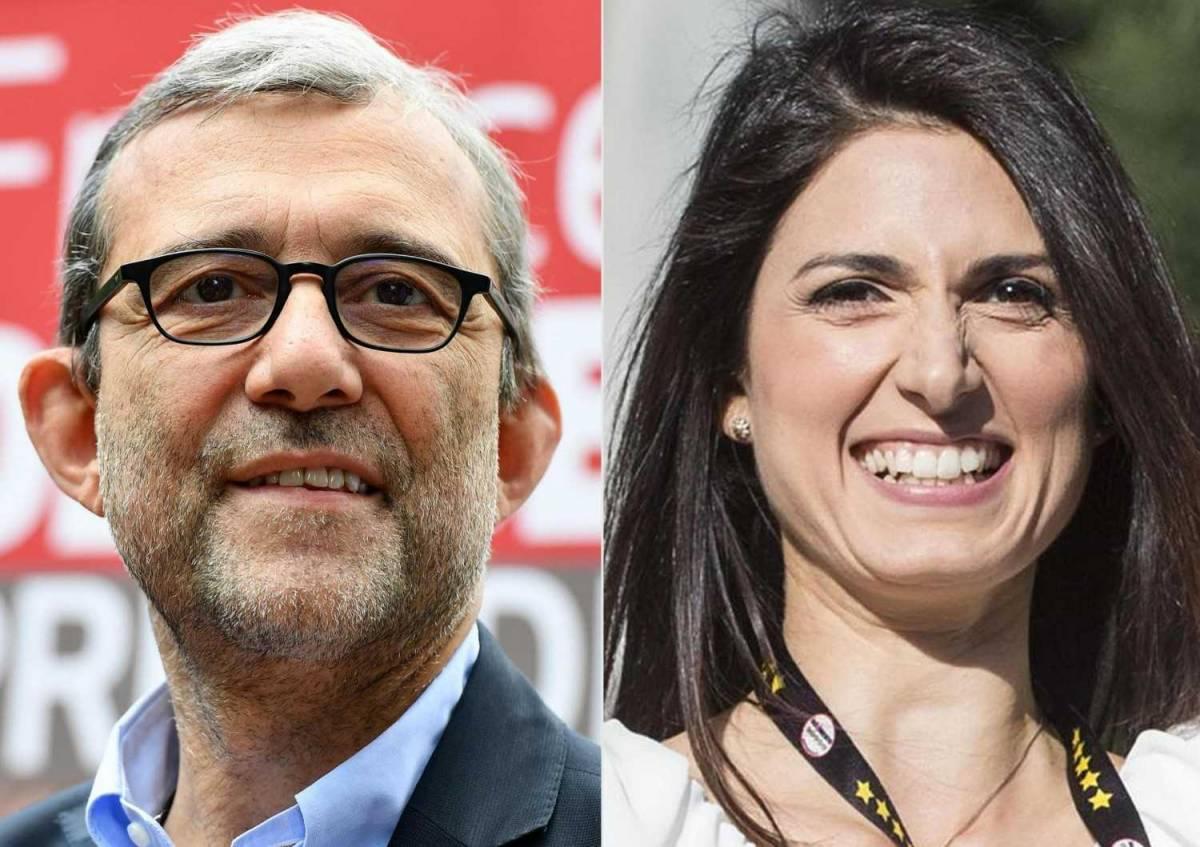 Roma, la Raggi è prima: va al ballottaggio con Giachetti