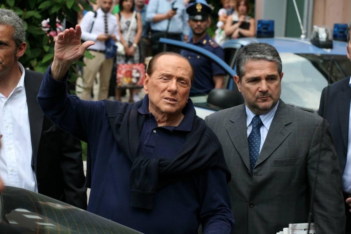 Berlusconi al San Raffaele per controlli