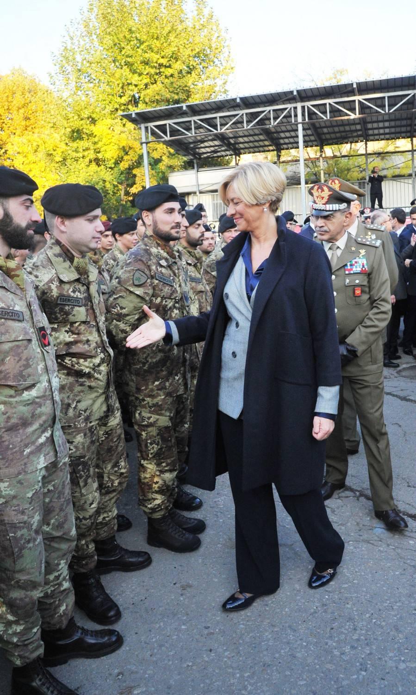 """Roberta Pinotti: """"L'Italia è pronta a dare un contributo per Raqqa"""""""