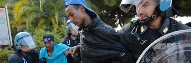 Ventimiglia: dopo la protesta migranti trasferiti all'hotspot di Taranto