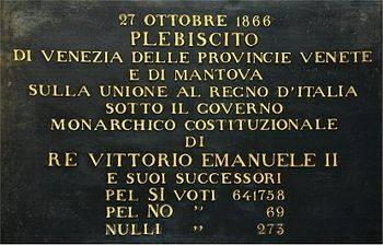 Il plebiscito del Veneto fu una truffa ma la sinistra non vuole dirlo