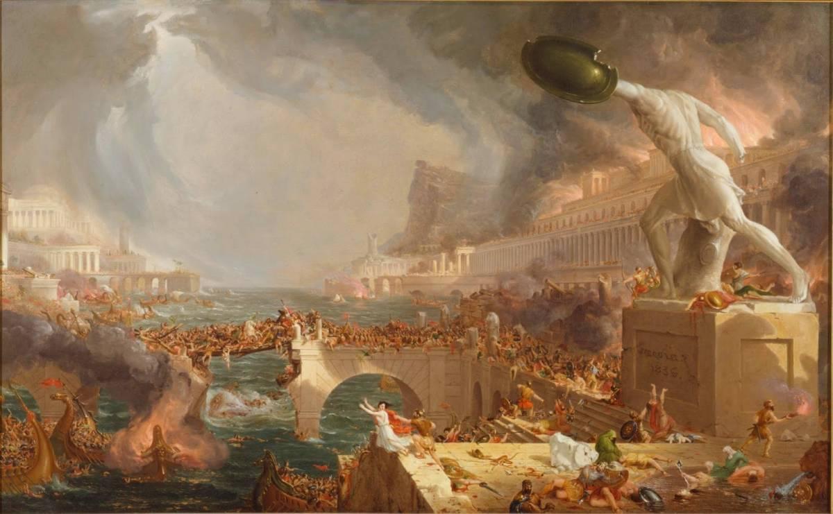 L'impero romano? Cadde per i pochi nati e i troppi stranieri