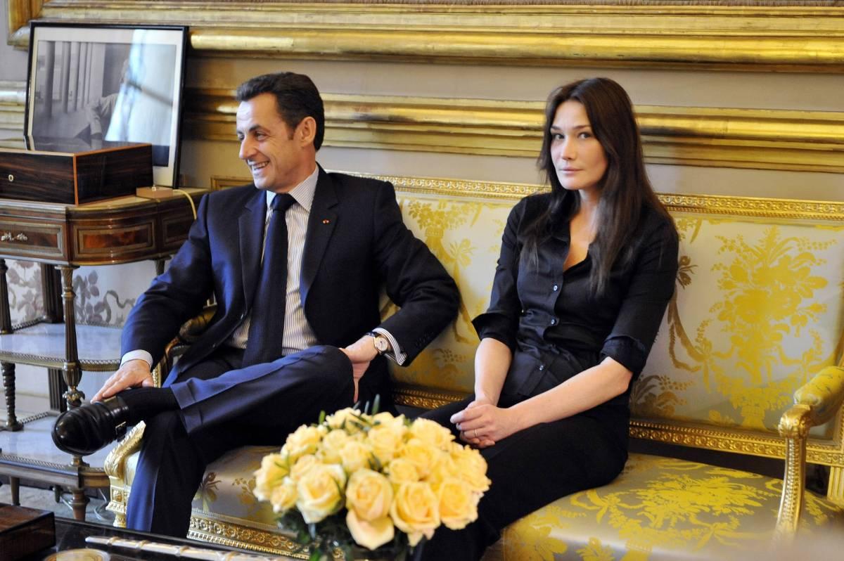 """""""A volte i migliori perdono"""" Il messaggio di Carla Bruni per Nicolas Sarkozy"""