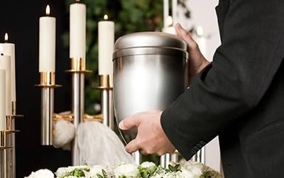 Urne biodegradabili e ceneri tra le radici La sepoltura? È green
