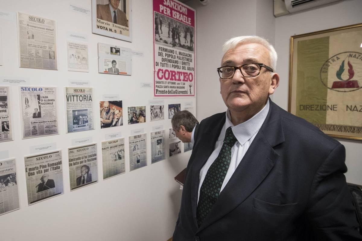 Non ricandidato Borghezio L'omaggio di Max Bastoni
