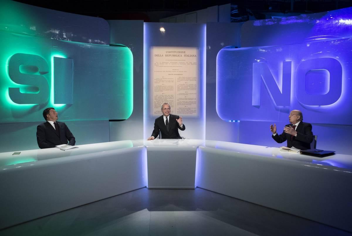 """De Mita attacca Renzi in tv: """"Io cambio partito? Tu amici"""""""