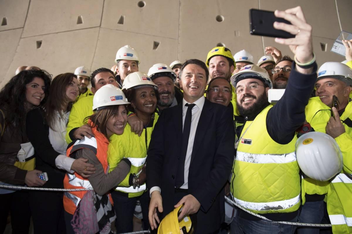Renzi vuole noi per fare vincere il Pd