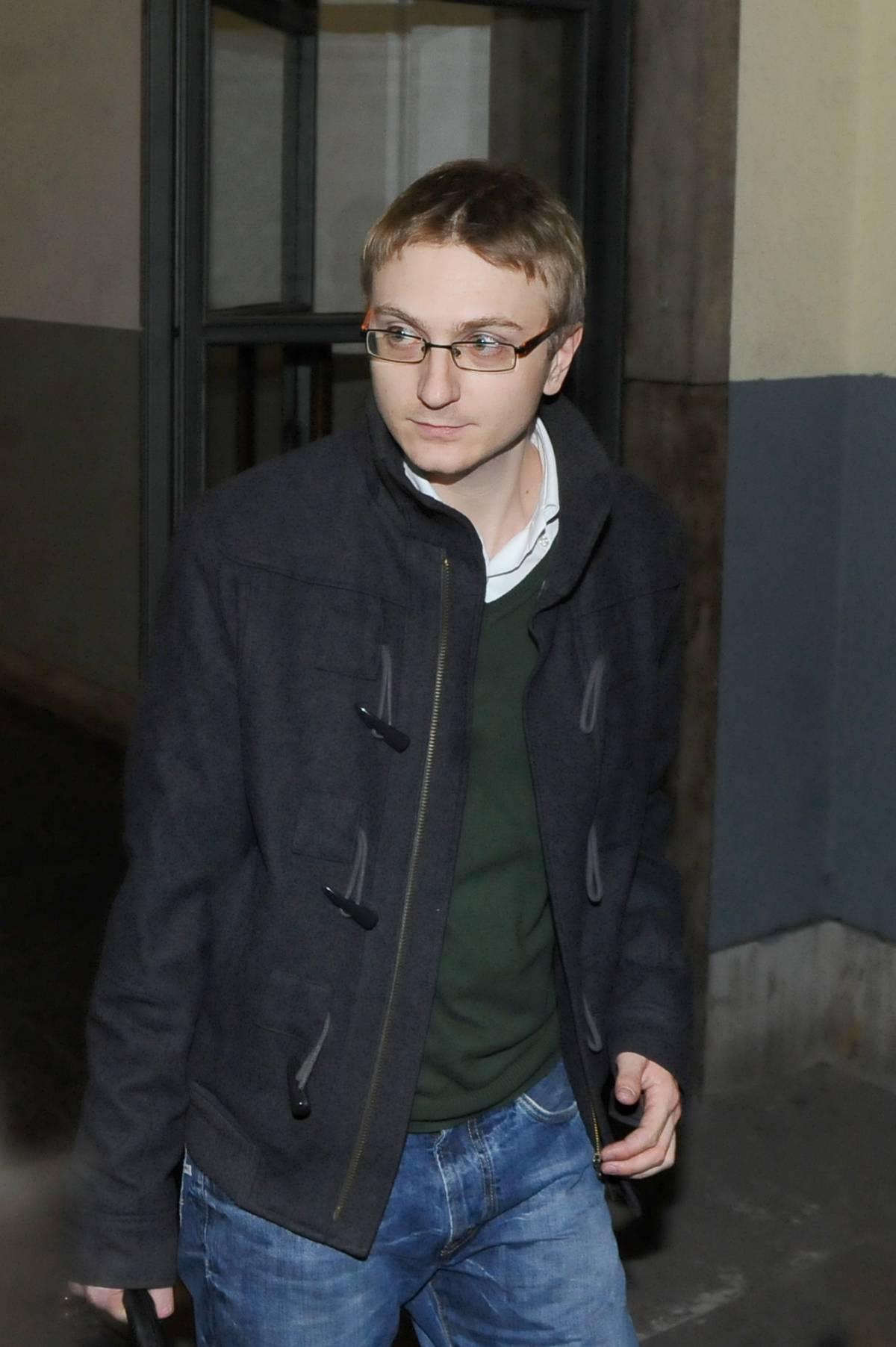 """Alberto Stasi in aula: """"Una donna mi ha minacciato su Facebook"""""""