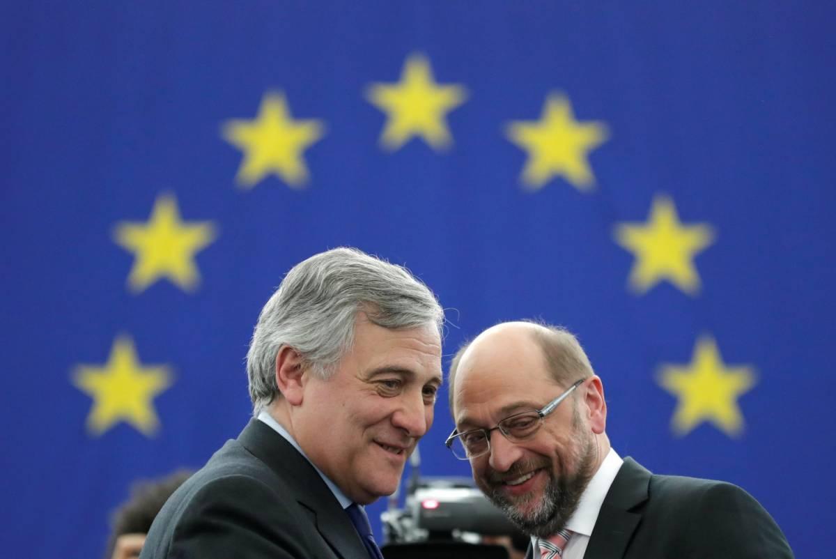 Antonio Tajani eletto presidente del Parlamento Ue