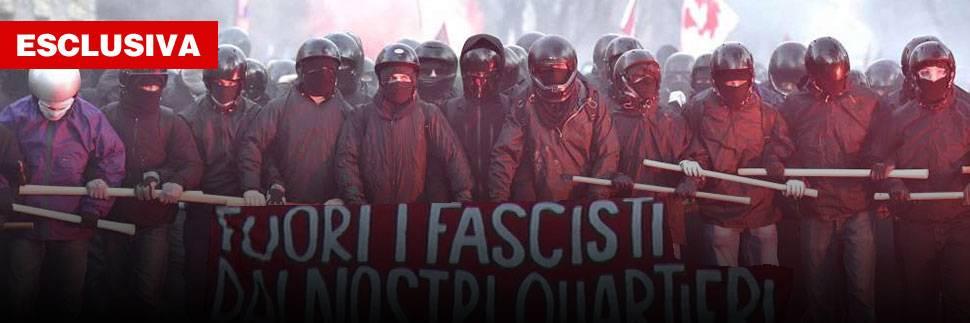 Bombe e violenze su CasaPound: è caccia al fascista