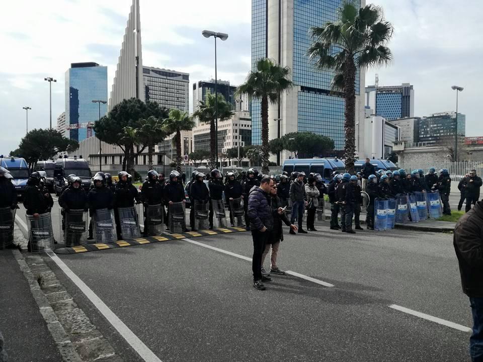 Corteo anti-Salvini a Napoli, scarcerati i due fermati
