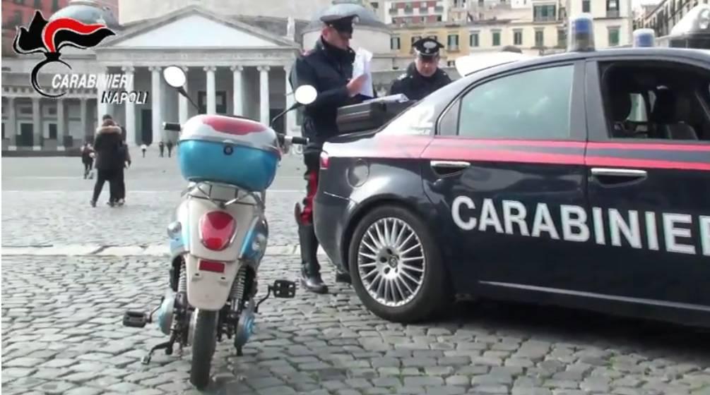Bici elettriche truccate, raffica di sequestri a Napoli