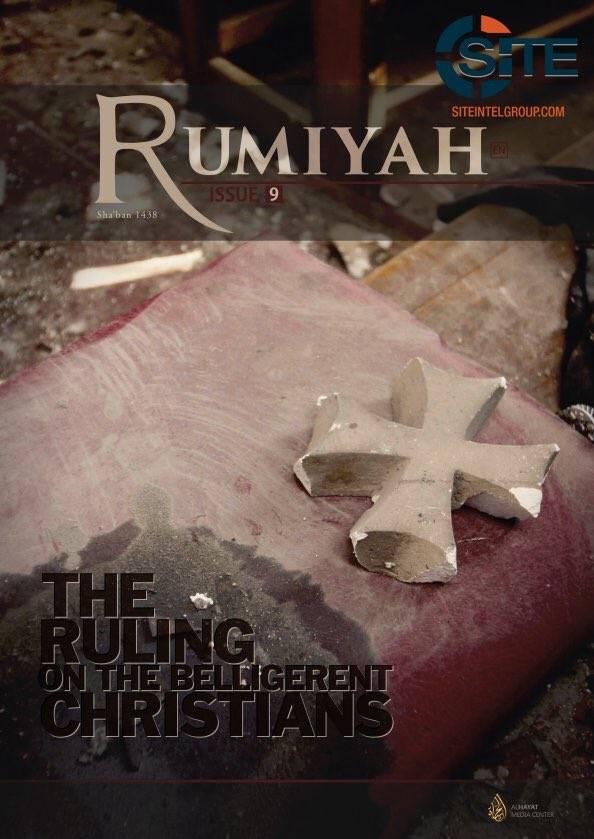 Isis, nuovo numero di Rumiyah, teorizzati nuovi attentati