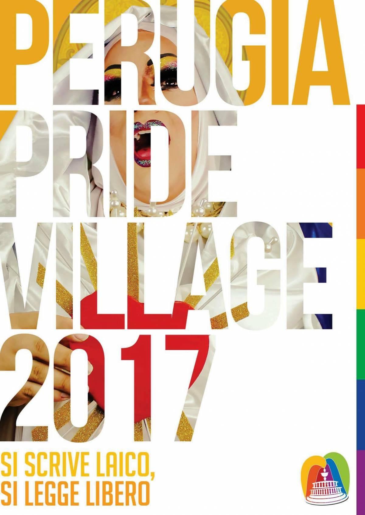"""""""La Madonna come drag queen"""". Bufera sul manifesto del gay pride"""