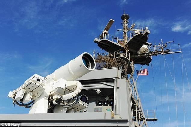 Le armi laser del Pentagono