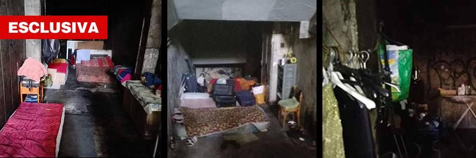 Le favelas sotterranee di Roma