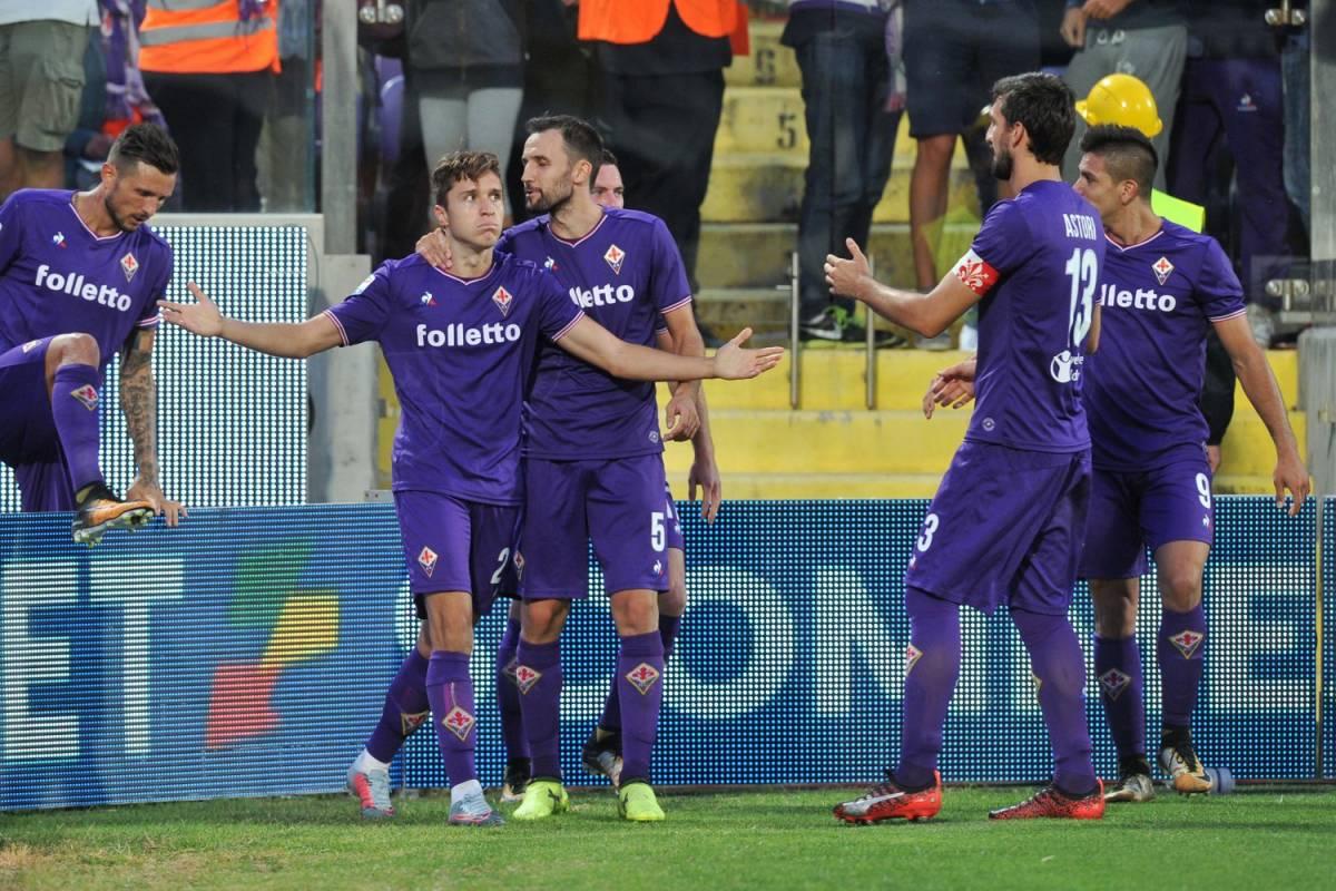 La Fiorentina si aggiudica il derby dell'Appennino: Bologna ko 2-1