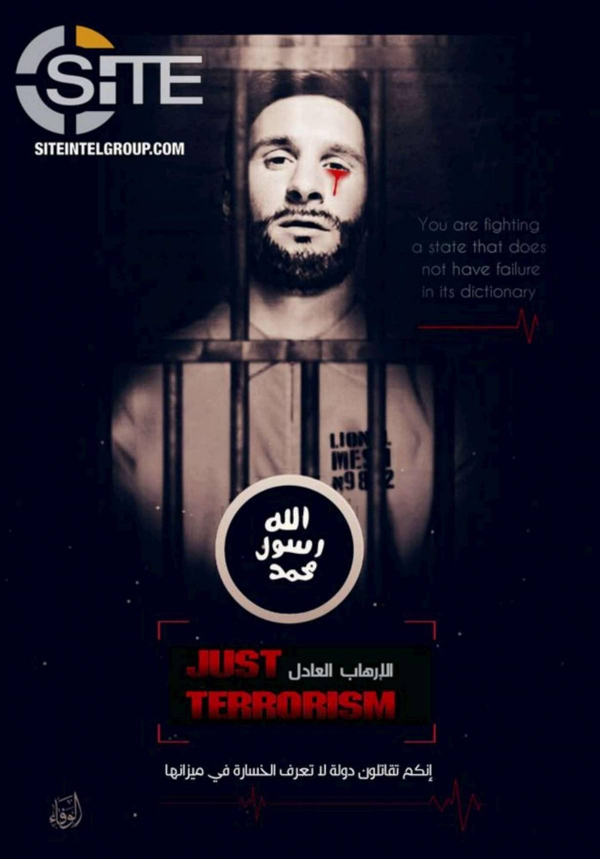 Messi e i Mondiali di Russia nel mirino della propaganda Isis