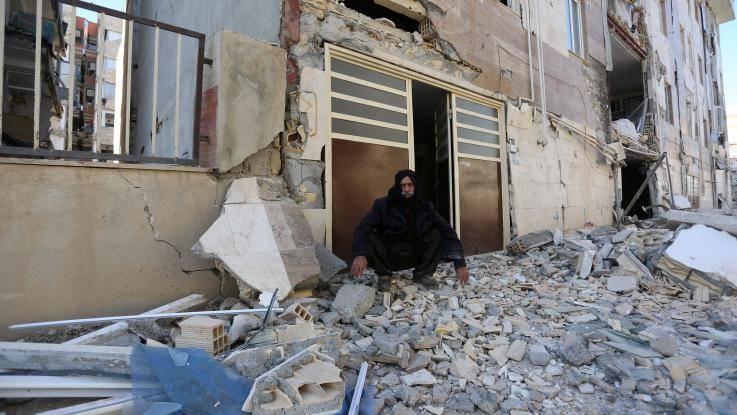 Un sisma di magnitudo 7.2 al confine tra l'Iraq e l'Iran