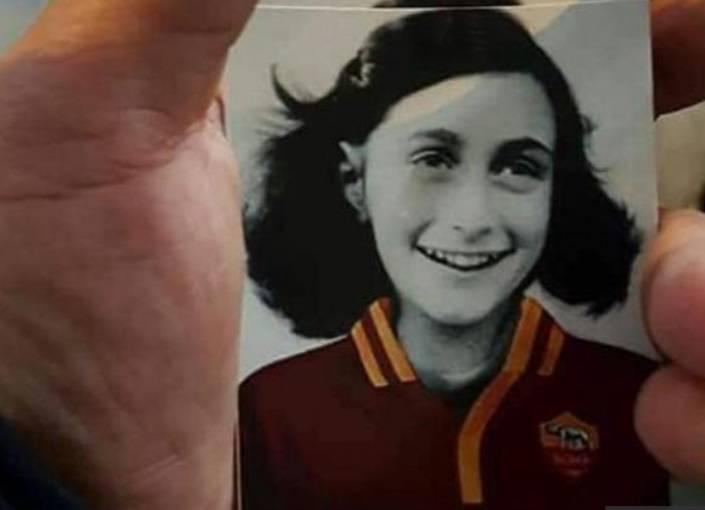 """Derby Lazio-Roma, i cori dei laziali: """"Anna Frank è romanista"""""""