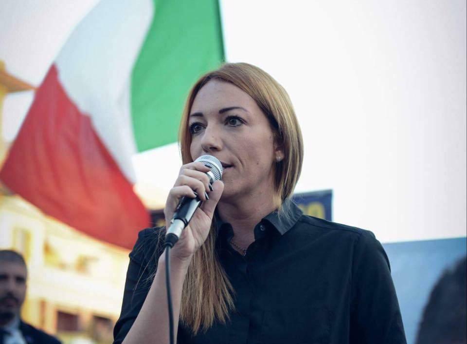 Carlotta Chiaraluce, la lady CasaPound campionessa di voti a Ostia