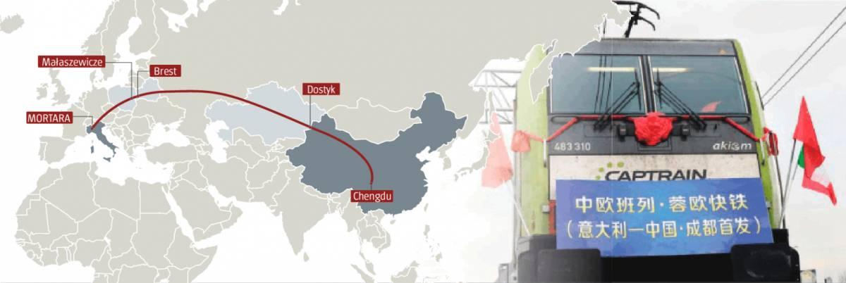 """Un treno da Mortara alla Cina. Ecco la nuova """"via della seta"""""""