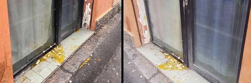 Bologna, raid dei centri sociali: uova e minacce su sede di destra