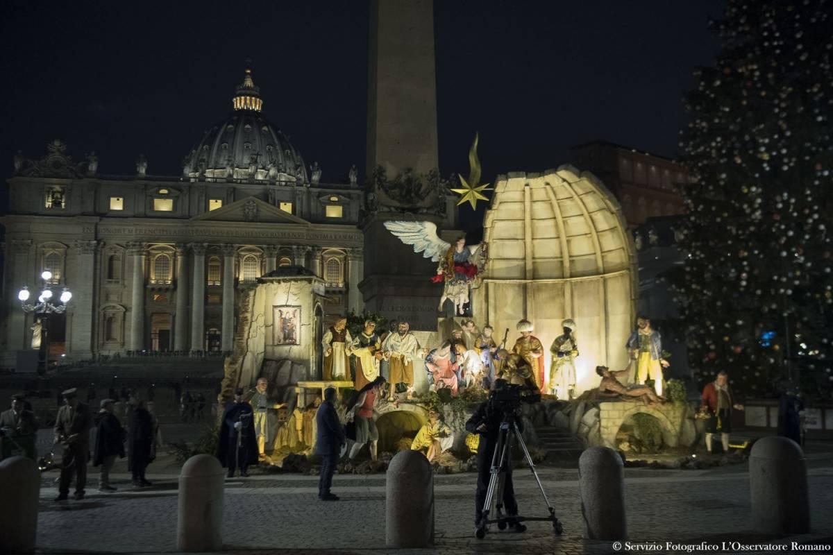 """""""Ecco l'antipresepe di Bergoglio"""", critiche dai tradizionalisti"""