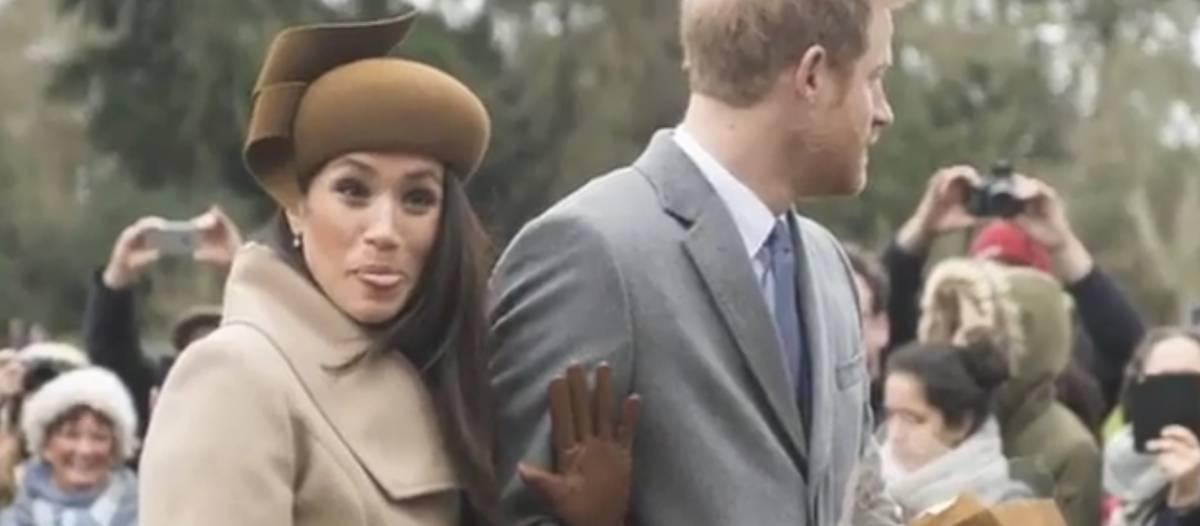 Il principe non guarda, Meghan fa la linguaccia