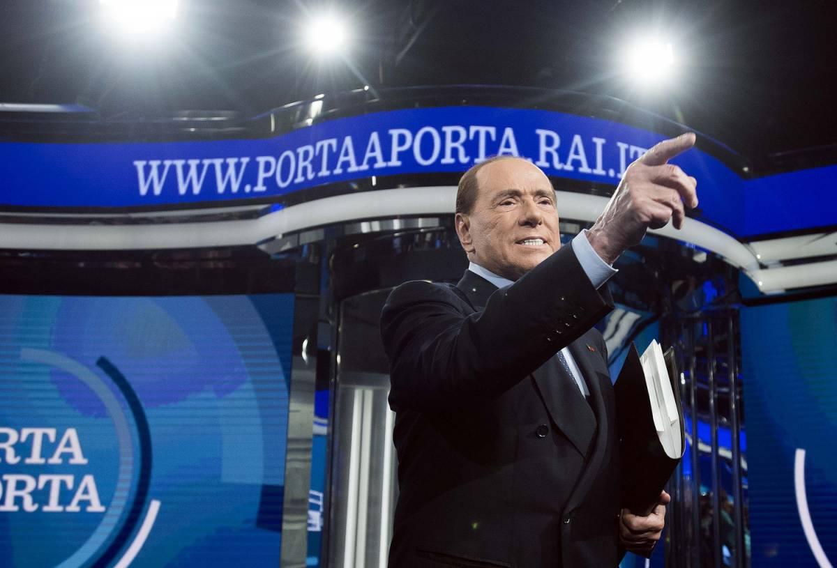 """Berlusconi lancia Parisi in Lazio: """"Con lui buon governo"""""""