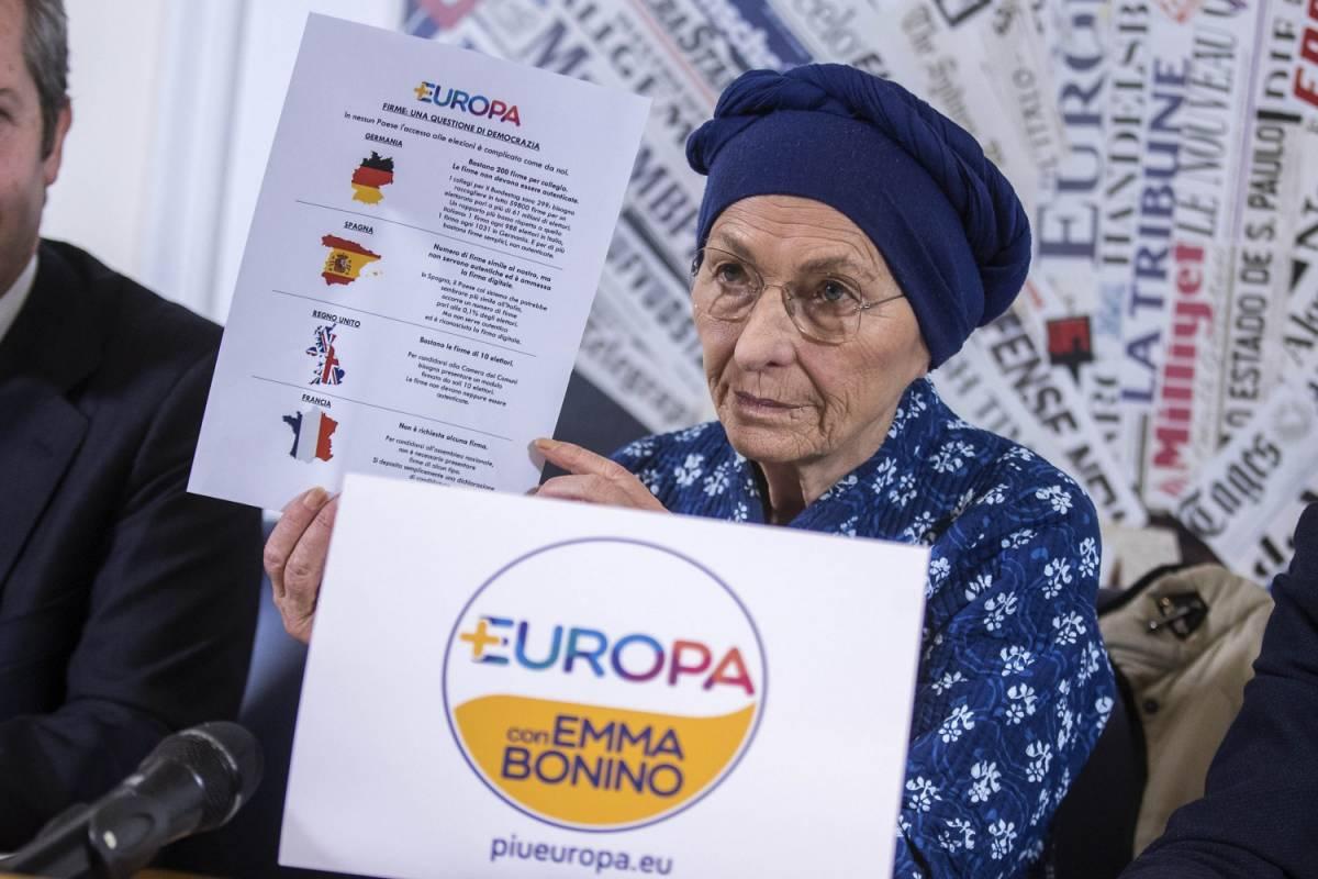"""Emma Bonino apre alle larghe intese: """"Possibili dopo il voto"""""""